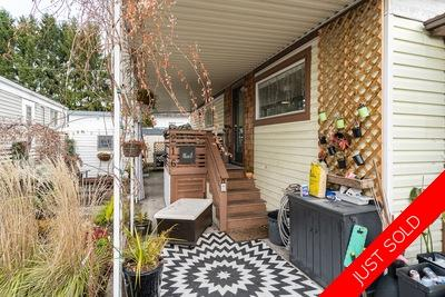 Central Coquitlam Manufactured home for sale:  3 bedroom 976 sq.ft. (Listed 2019-11-19)